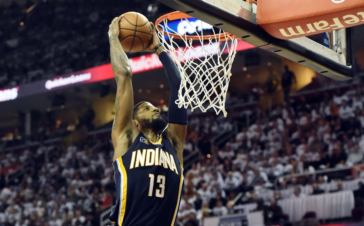 REPORT: George not returning to Pacers after'18